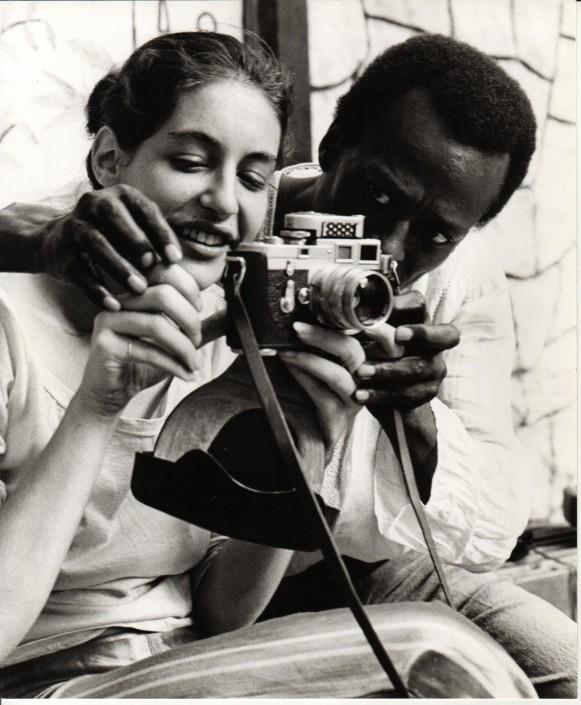 Andrea Aranow, Miles Davis, 77 St. NYC, 1969