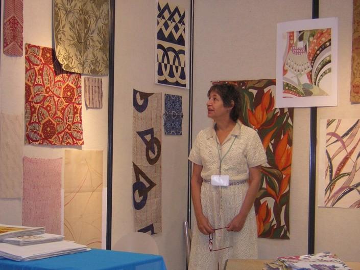 Andrea Aranow at Indigo in Paris, Sept. 2004